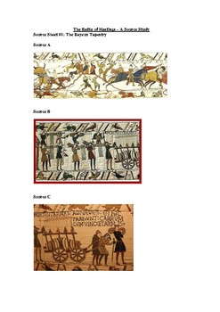 The Battle of Hastings Document Study