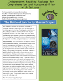 The Battle of Jericho Independent Reading Package with Quizzes!