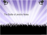 The Battle of Jericho: Pre-Reading Notes