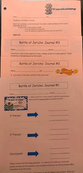 The Battle of Jericho Study Guides