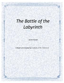 The Battle of Labyrinth Novel Unit Plus Grammar