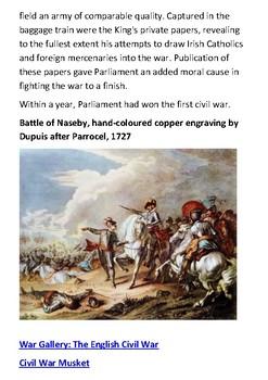 The Battle of Naseby Handout