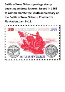 The Battle of New Orleans Handout