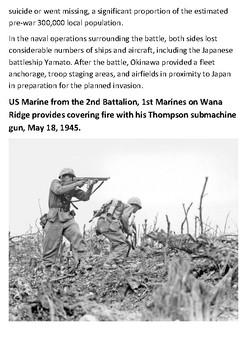 The Battle of Okinawa Handout