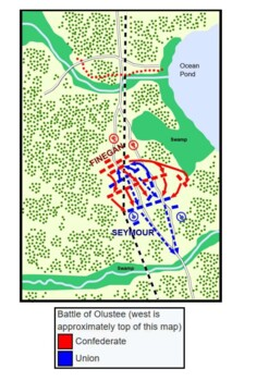 The Battle of Olustee Handout