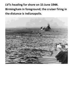 The Battle of Saipan Handout