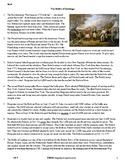 The Battle of Saratoga - Grade 6