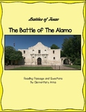 Battle of The Alamo Reading Passage and Questions