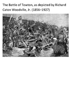 The Battle of Towton  - War of the Roses Word Search