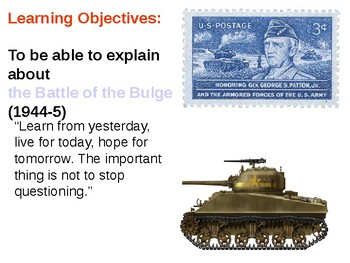 The Battle of the Bulge (1944-5) Informative Guide