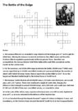 The Battle of the Bulge Crossword