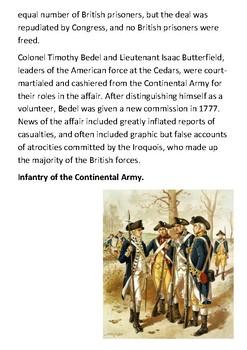 The Battle of the Cedars Handout