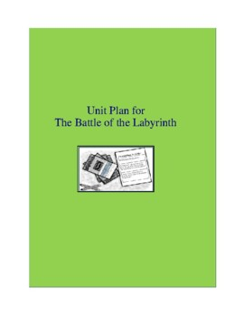 The Battle of the Labyrinth Complete Literature and Grammar Unit