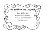 The Battle of the Labyrinth Quote Sort