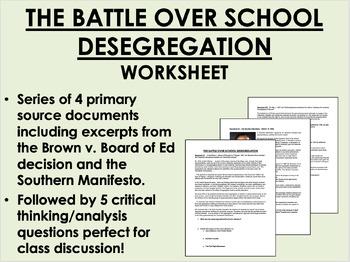 The Battle over School Desegregation - Civil Rights Movement - US History/APUSH