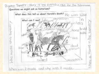 The Bayeux Tapestry Source Analysis Activity