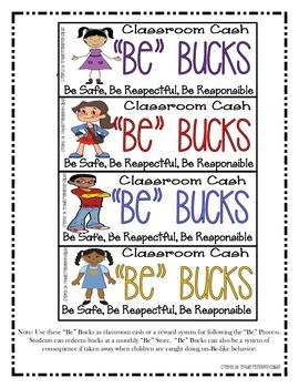 The Be Process -Classroom Management Plan