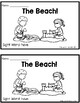 """The Beach! 2 Differentiated Sight Word Emergent Readers: """"Have"""""""