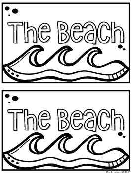 The Beach Book For Guided Reading Groups