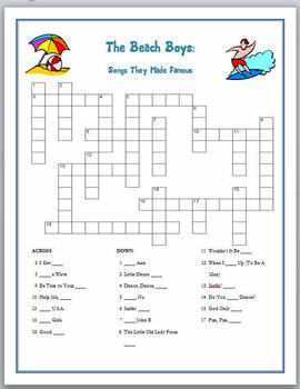 The Beach Boys - Songs They Made Famous Puzzle