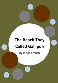 The Beach They Called Gallipoli - Jackie French and Bruce Whatley - Anzac Day