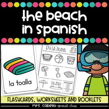 The Beach in Spanish Activity Pack - La Playa