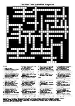 The Bean Trees - Big Fun Crossword Puzzle
