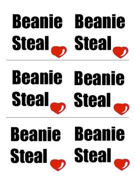 The Beanie Steal Vowel Team Game