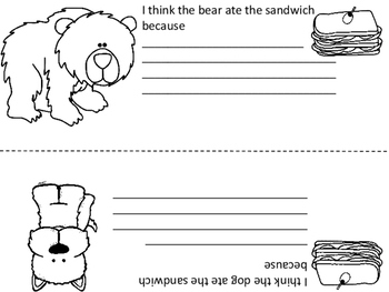 The Bear Ate Your Sandwich:  Activities to Go Along With the Book