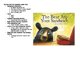 The Bear Ate Your Sandwich Lesson Plan