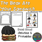 The Bear Ate Your Sandwich Read Aloud Printables Activities