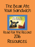 The Bear Ate Your Sandwich - Read for the Record 2016 - Resource Pack