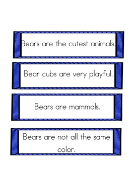 The Bear Facts