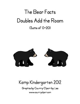 The Bear Facts Doubles Add the Room (Sums of 0-20)