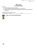 The Bear That Wasn't Claim Worksheet (Gen Ed) (Scaffolded)