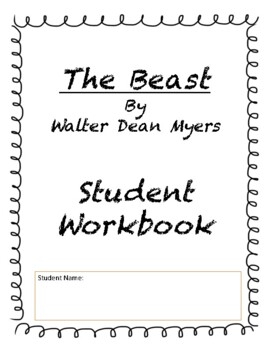 """""""The Beast"""" by Walter Dean Myers Teaching Packet Activities"""