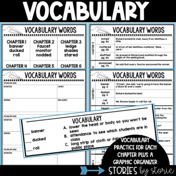 The Beast in Ms. Rooney's Room Questions and Vocabulary