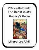 The Beast in Ms. Rooney's Room by Patricia Reilly Giff Literature Unit