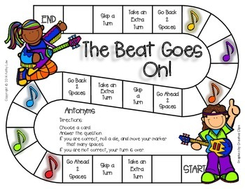The Beat Goes On - Antonyms