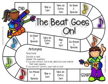 The Beat Goes On - Antonyms