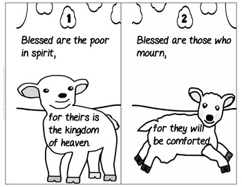 The Beatitudes Booklets - Jesus the Good Shepherd