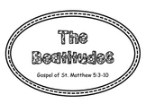 The Beatitudes Bulletin Board Set