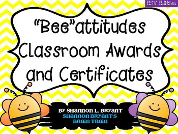 The Beatitudes (ESV Awards and End of the Year Certificates)