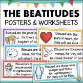 The Beatitudes Posters Mini Bulletin Board Set