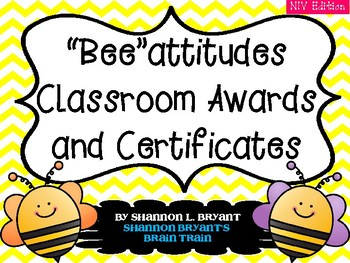 The Beatitudes (NIV Awards and End of the Year Certificates)