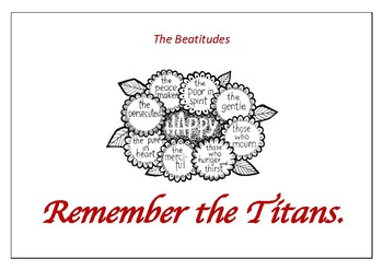 The Beatitudes - Remember the Titans
