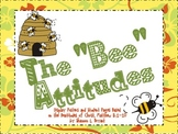 The Beatitudes (Song, Posters, Coloring Sheets, and Writing Activity)