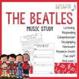 The Beatles Music Study: Activities and Worksheets