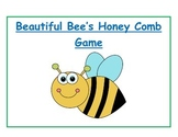 The Beautiful Bee's Honey Comb Game: 3 Digit Addition