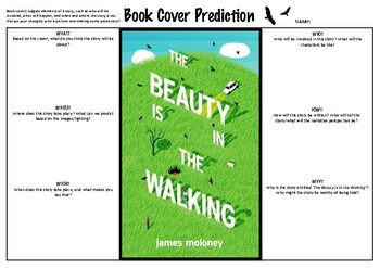 The Beauty is in the Walking   BOOK COVER ANALYSIS & PREDICTIONS
